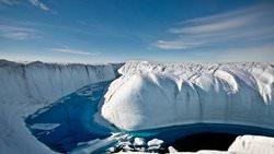 Petermann River, Greenland