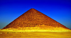 Die rosa Pyramide