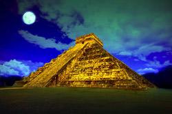 Piramide de Kukulkan, Mexico