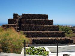 Die Pyramiden Guimar, Spanien