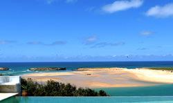 Blanche Strand, Marokko