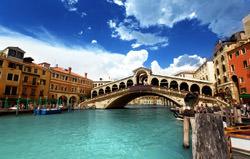 Rialto Brücke, Italien