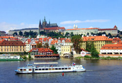Die Prager Burg, Tschechien