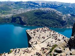 La Roca Catedra del Predicador, Noruega