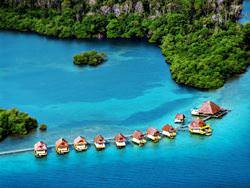 Hotel auf dem Wasser Punta Caracol, Panama