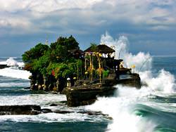 Pura Tanah Lot Tempel, Indonesien