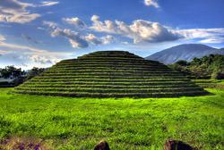 Pyramid Guachimontones, Mexico