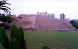 Pyramid Huaca Ualyamarka, Peru
