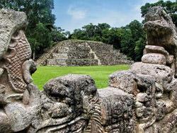 Copán Pyramiden