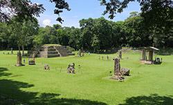 Copán Pyramiden, Honduras