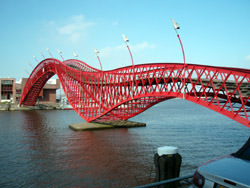 Pythonbrug, The Netherlands