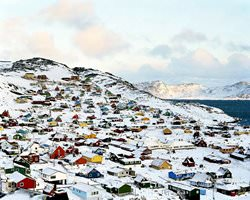 Qaqortoq Village, Grönland