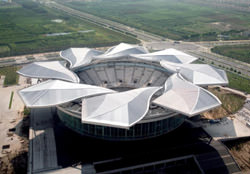 Qi Zhong Stadium, China