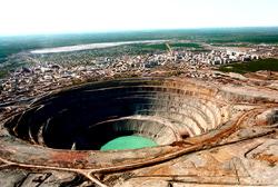 Quarry Korkino, Russia