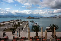 Waterfront of Nafplion, Greece
