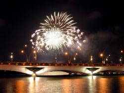 El Festival de Fuegos de Rin, Alemania