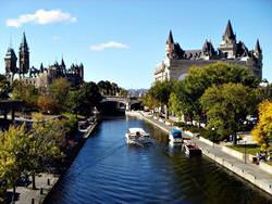 Канал Ридо, Канада