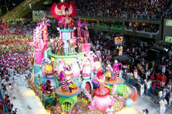 El Carnival de Rio de Janeiro, Brasil