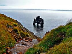 Rock Hvitserkur, Island