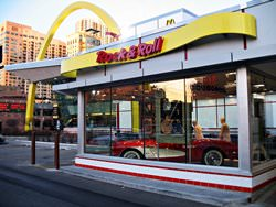 Rock-n-Roll McDonalds, Estados Unidos