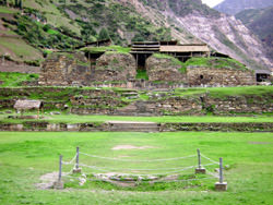 Ruinas de Chavin de Huantar, Perú