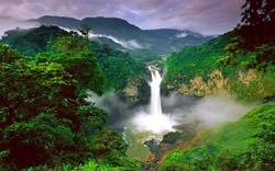 San Rafael Wasserfall