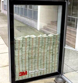 Security Glass Ads, United States