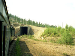 Severomuisky tunnel, Russia