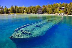 The Surviving Remains of Shipwrecks You Can Observe Yourself