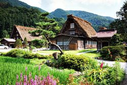 Shirakawa-go Dorf, Japan