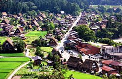 Shirakawa-go Village, Japan