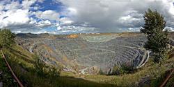 Sibai Kupfererztagebau