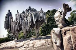 Jean Sibelius Denkmal, Finnland