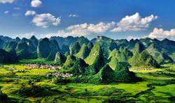 Карстовые отложения Южного Китая, Китай
