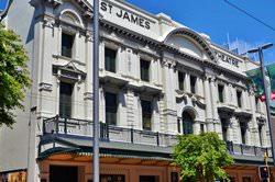 Театр Святого Джеймса, Новая Зеландия