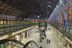 Вокзал Сент-Панкрас, Великобритания