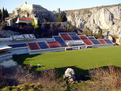 Stadion Gospin Dolac, Croacia