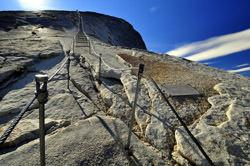 Half Dome Treppe