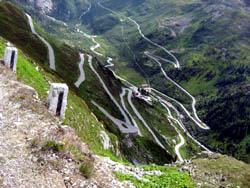 Stelvio Pass, Italien