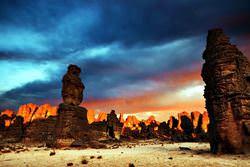 Gebirgskette Tassili n'Ajjer