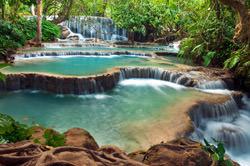 Kuang Si Wasserfall, Laos