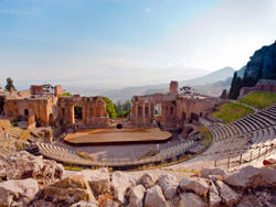 Teatro Greco Antico di Taormina, Italy