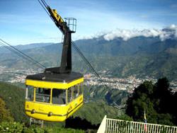 Канатная дорога Телеферико-де-Мерида, Венесуэла