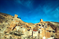 The Monastery of Mar Saba, Israel