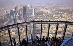 Spitze von Burj Khalifa, VAE