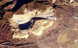 Toquepala Kupfertagebau, Peru