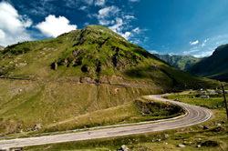 Transfagarasan Bergautobahn, Rumänien