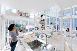 Transparent House, Japan