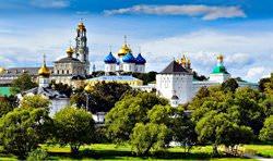 Trinity Sergius Lavra, Russia