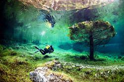 Parque Submarino Gruner See, Austria